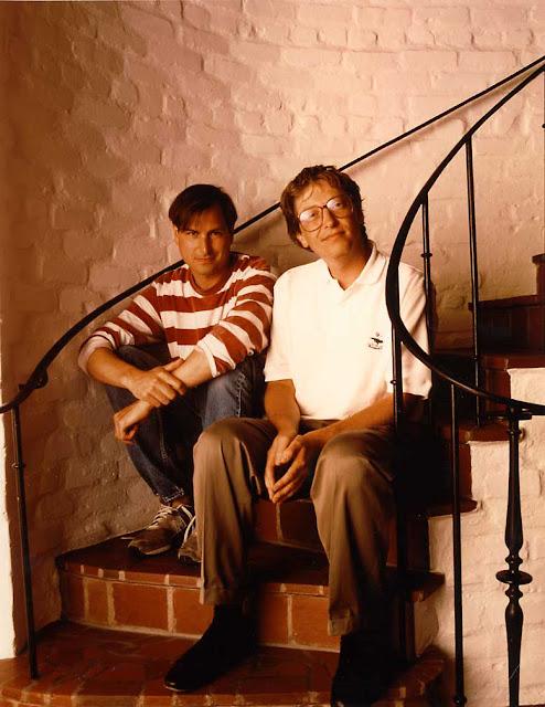 Fotografía publicada en Computer World en el año 1991. Fuente:lapatilla