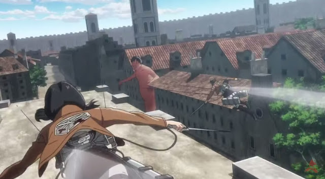 Attack on Titan Part 1 Crimson Bow Arrow still 3d