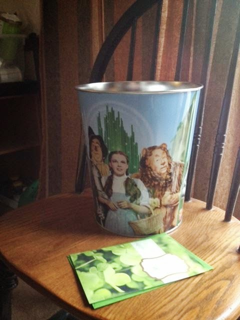 Wizard of Oz trashcan