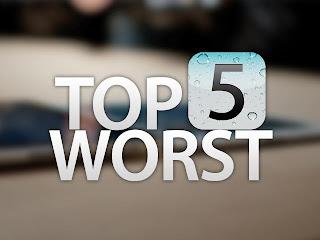 top 5 worst