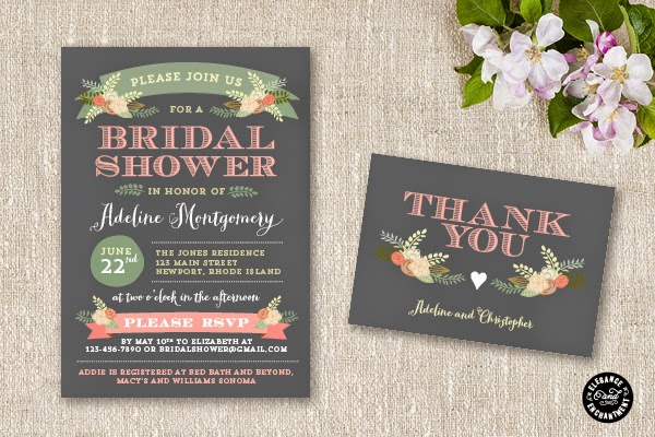 Attention: Bridal Shower Invitations -1