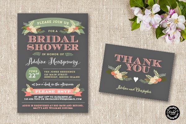 Attention: Bridal Shower Invitations -1