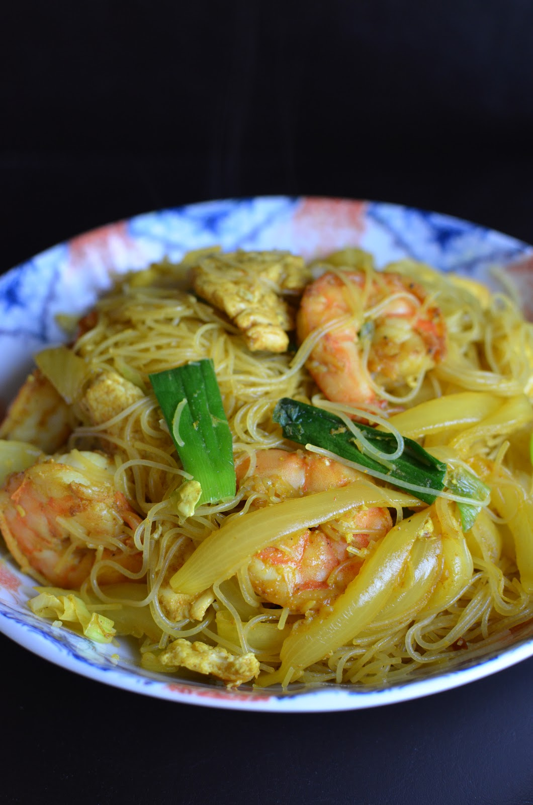how to cook singapore curry chicken