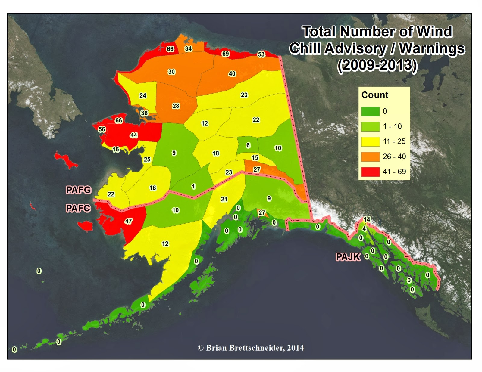Deep Cold: Alaska Weather & Climate: Alaska Winter Advisories 2009