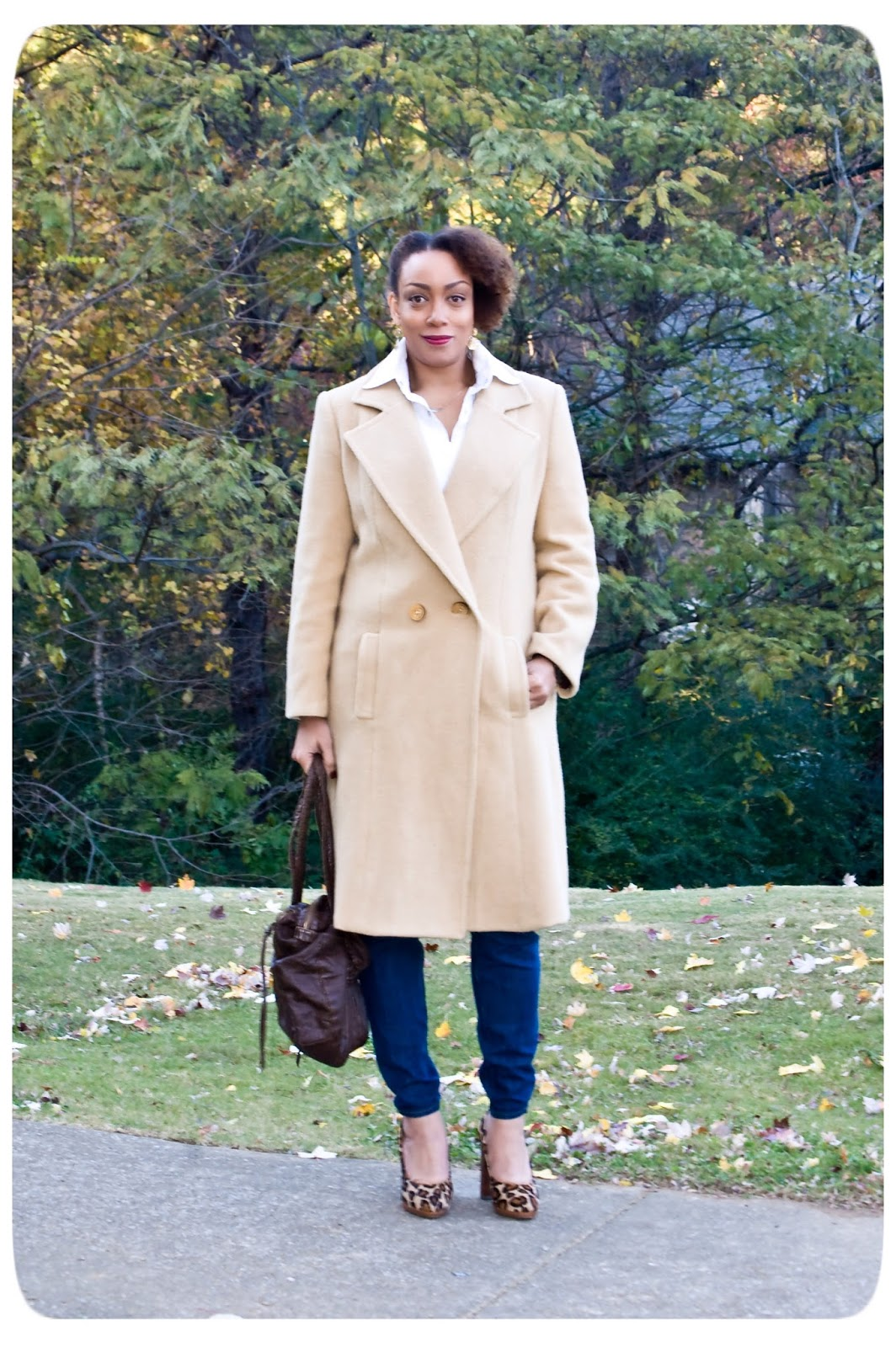Simplicity 1756 - Tailored Camel Hair Coat - Erica B - DIY Style!