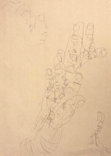 Most Characteristic Of Contour Line Drawing : Drawing foundations contour line