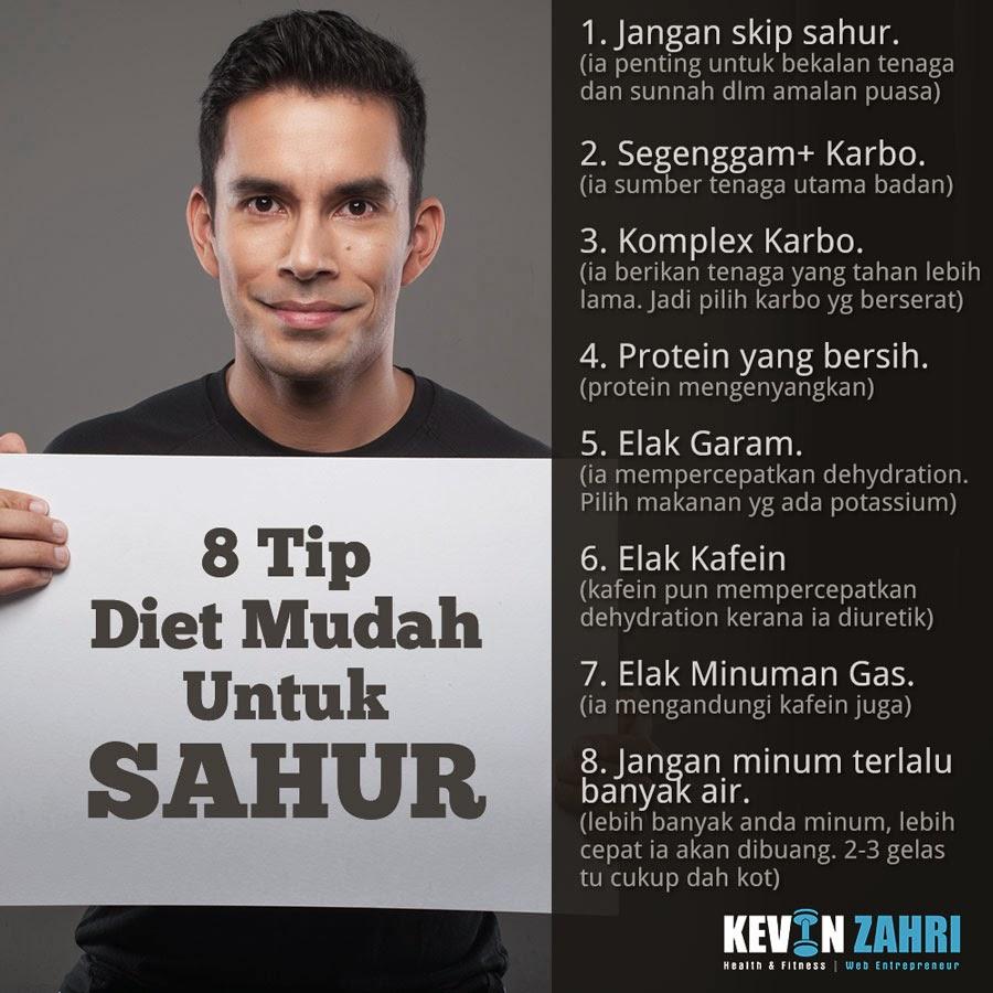 tip diet sahur