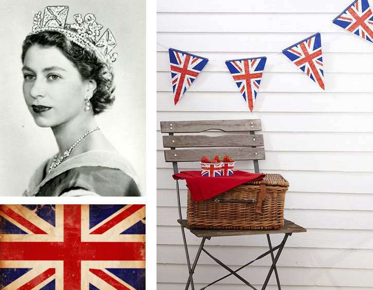 Queen Elizabeth II, Union Jack, British heritage, Royal family, English heritage,