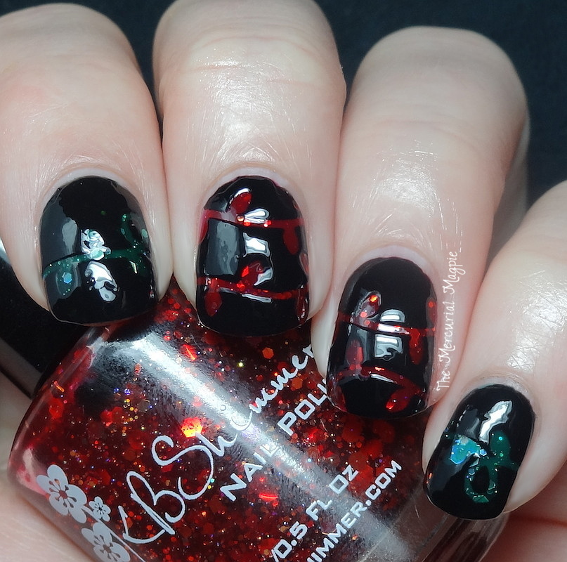 KBShimmer Winter 2014 Collection Holiday-themed Vinyls review
