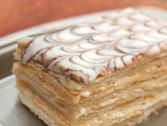 French Neapolitan Cake