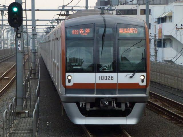 東京メトロ有楽町線 各停 練馬高野台行き1 10000系
