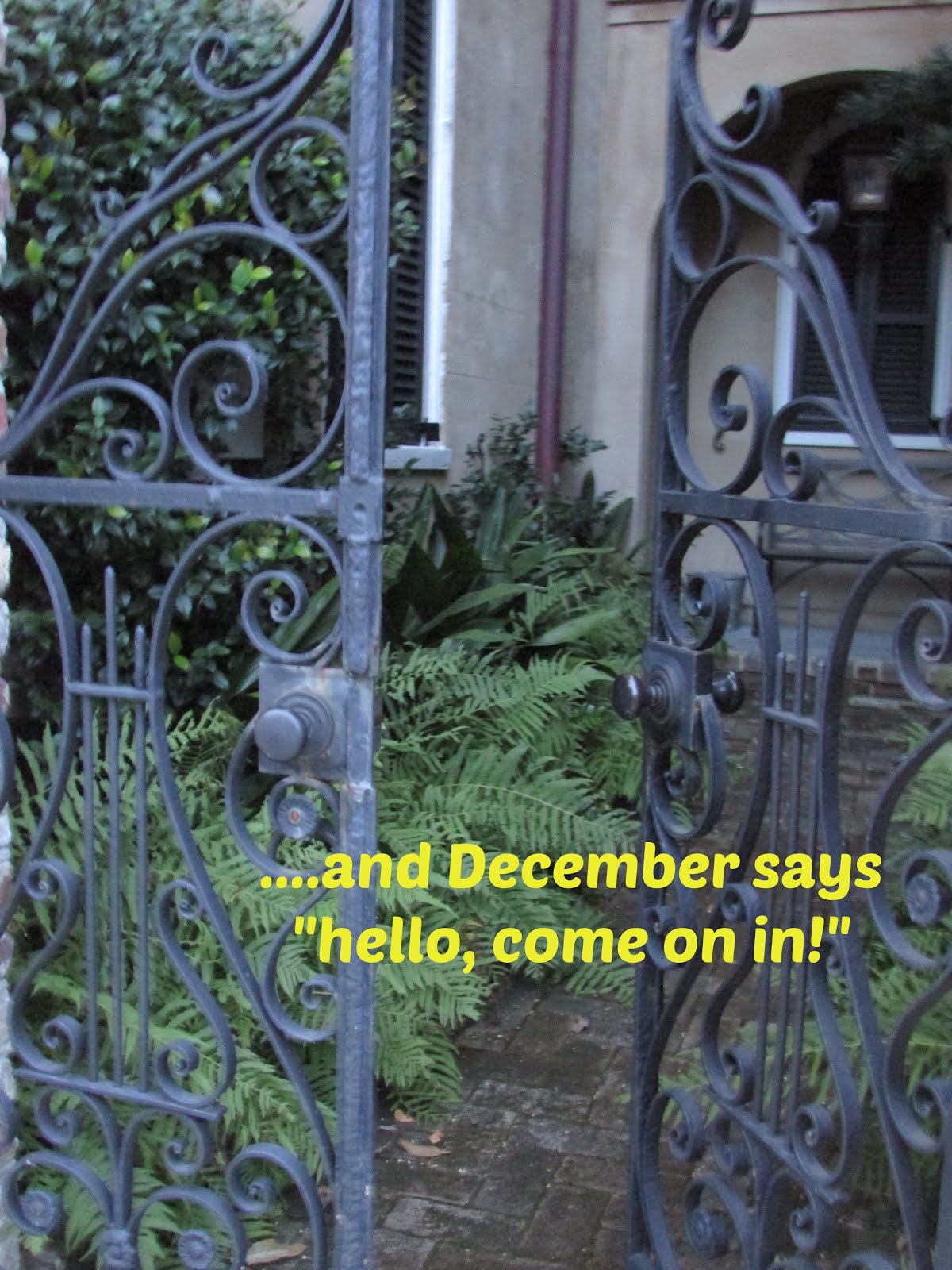 Welcome back, December!
