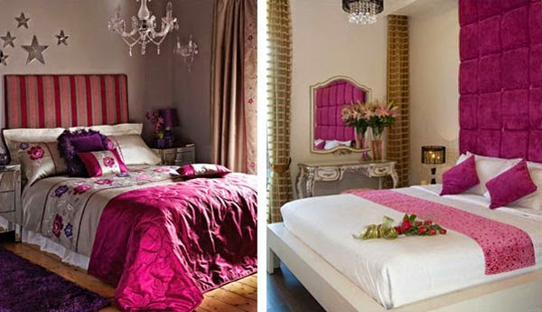 Romantic Interior Design For Bedroom