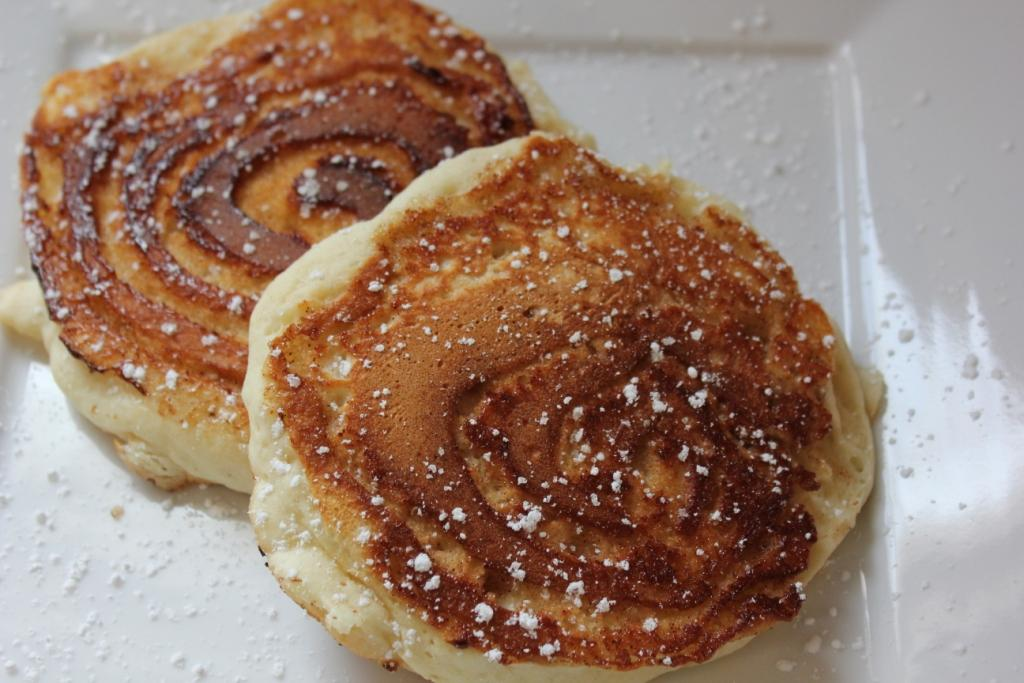 White Cedar Inn Today: Cinnamon Swirl Pancakes