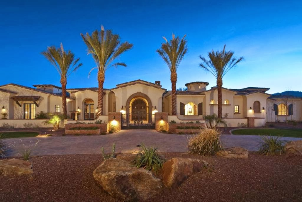 A Paradise Valley Arizona Estate With Endless Elegant Details