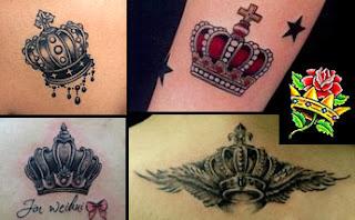 Tatuagens de coroa pequenas