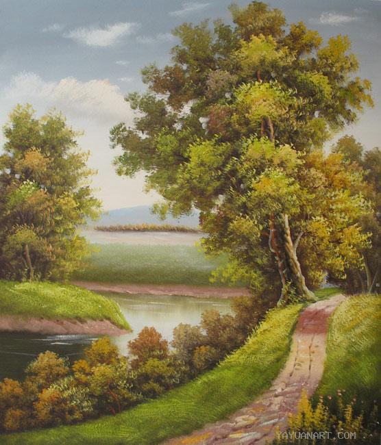famous oil paintings of landscape wwwimgkidcom the