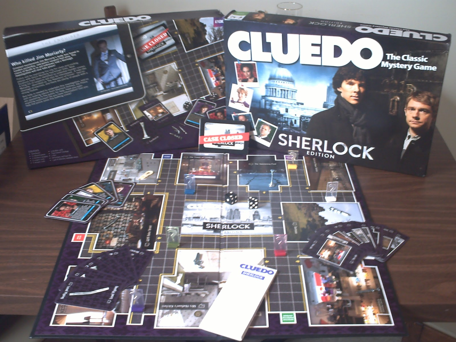 Review] - Cluedo, Sherlock Edition - The Disgruntled Individual