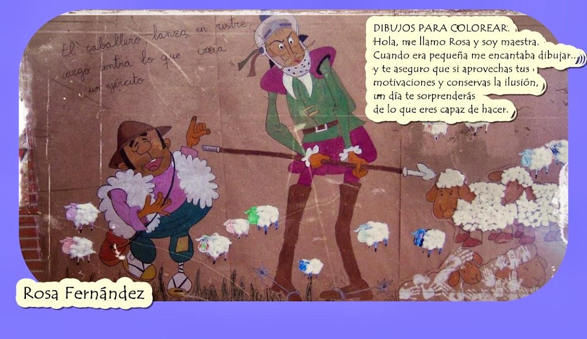 Dibujos para colorear. Maestra de Infantil y Primaria.