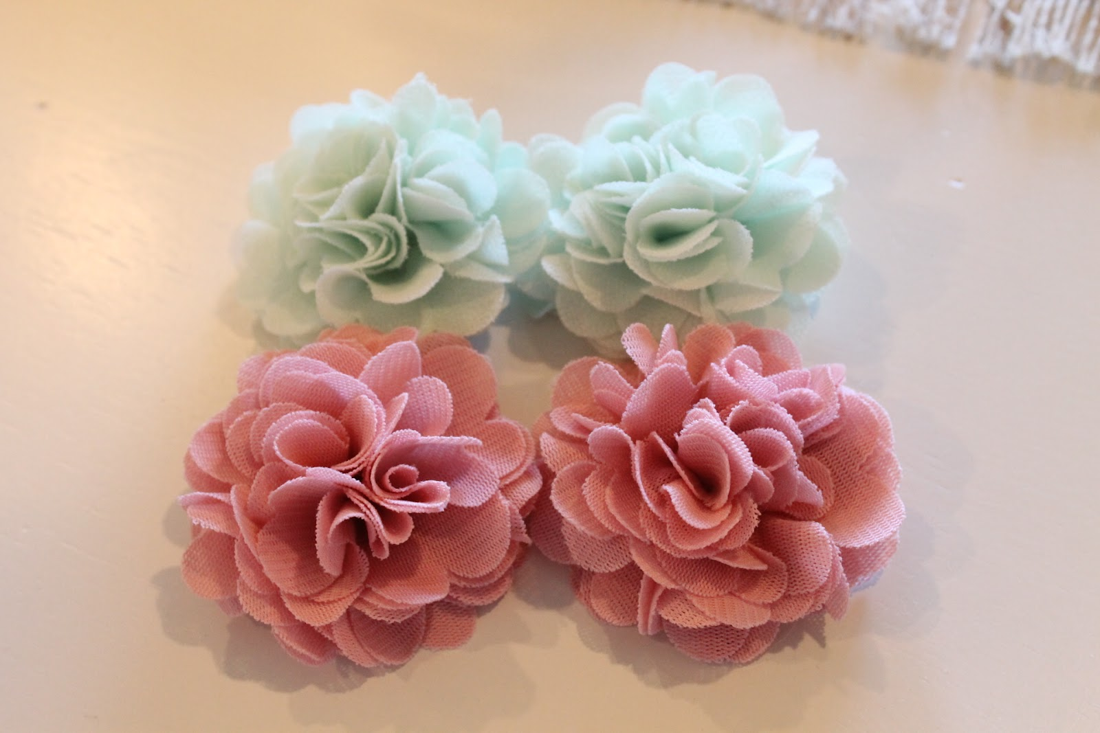 Oh For Sweetness Sake Chiffon Flowers And Lillians Toes