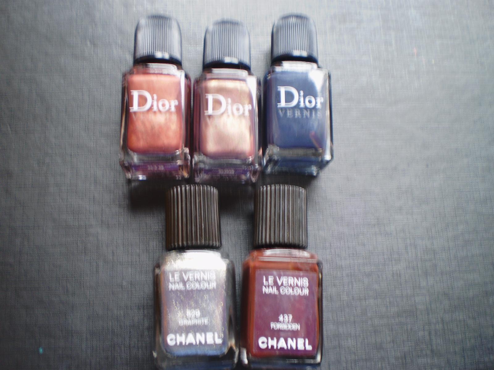 esmaltes de uñas christian dior