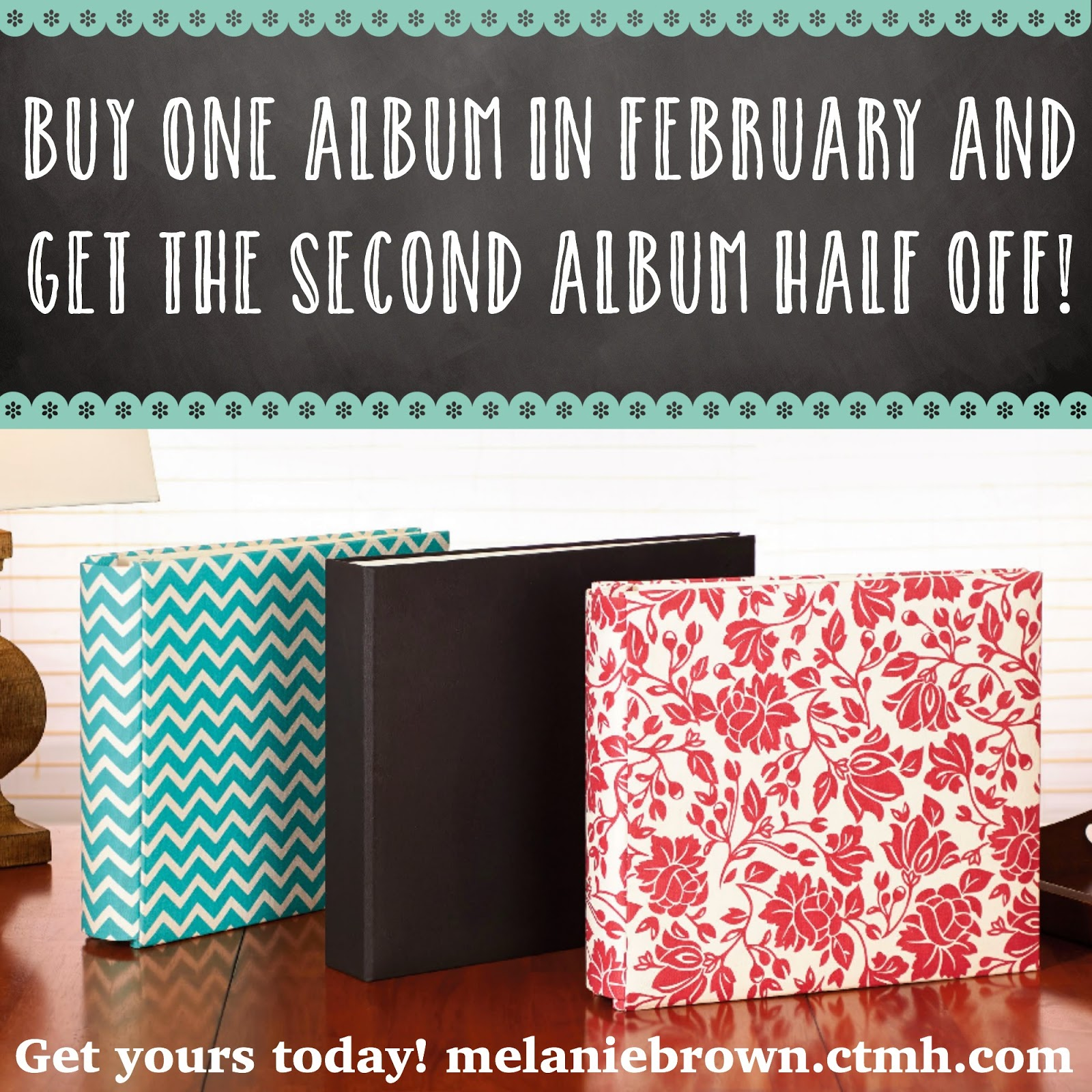 Buy one album get the secomd for free in February!