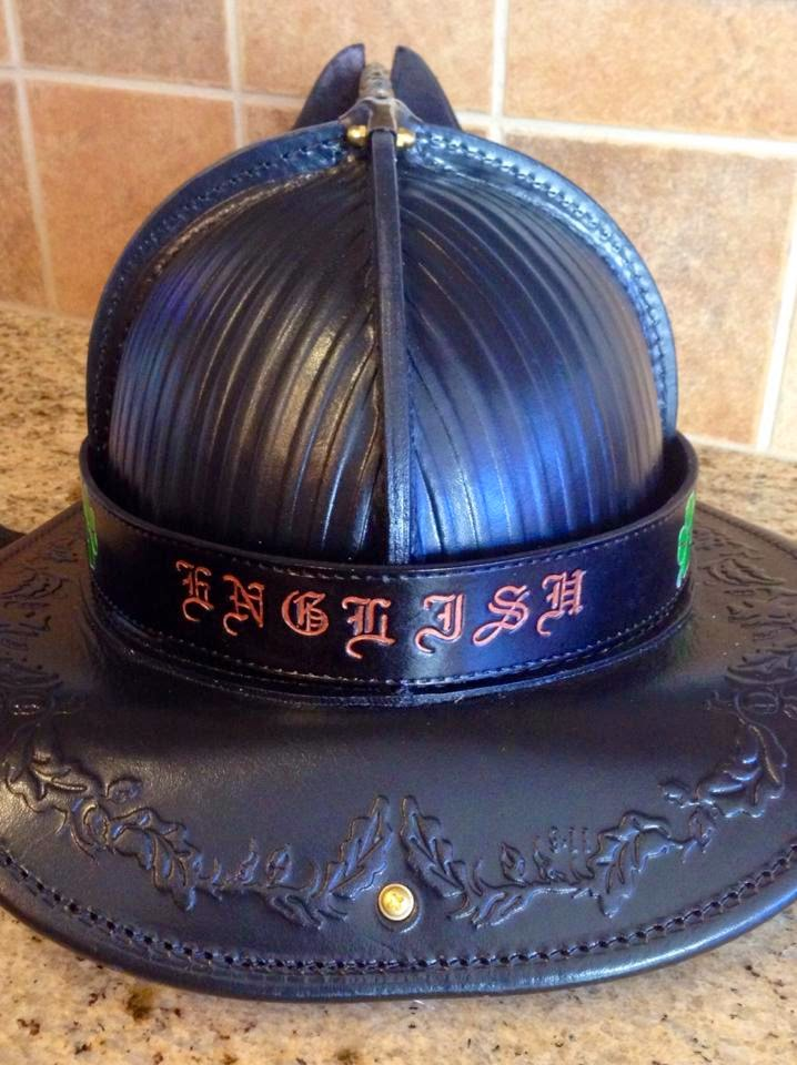 Custom Fire Helmet Band