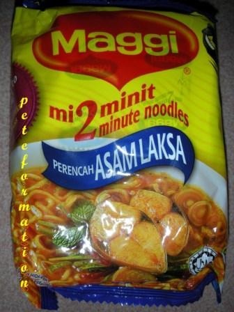 laksa noodles. assam laksa noodles!