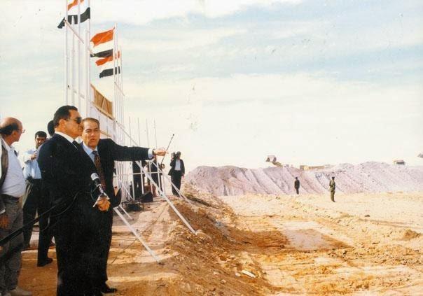 المشروع القومى فى عهد الرئيس مبـارك