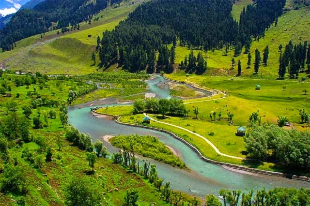 Betaab Valley is one of the most popular tourist destinations in Jammu and Kashmir.