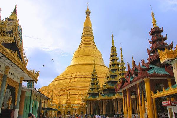 Pagoda Shwedagon Paya - Myanmar