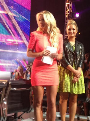 Britney and Demi X Factor Judges Texas Auditions