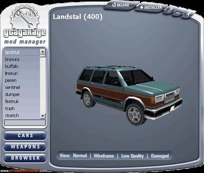 GTA Garage Mod Manager (GGMM) Para GTA San Andreas