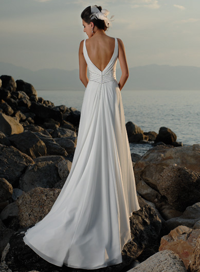 Dream wedding place beach wedding dress styles for Unique wedding dress styles