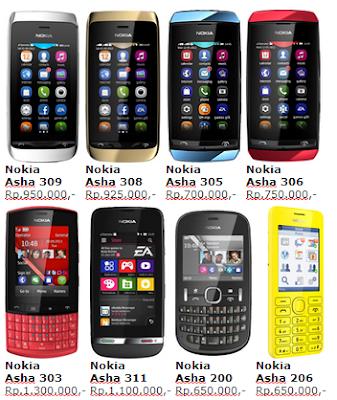 Berikut ini Daftar Harga Handphone Nokia Mei 2013.