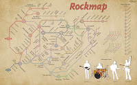 Mapa do Rock