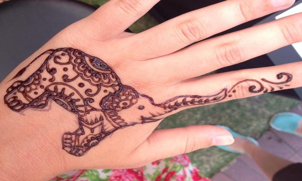 Mehndi Page Elephant Henna Design Free Henna Art