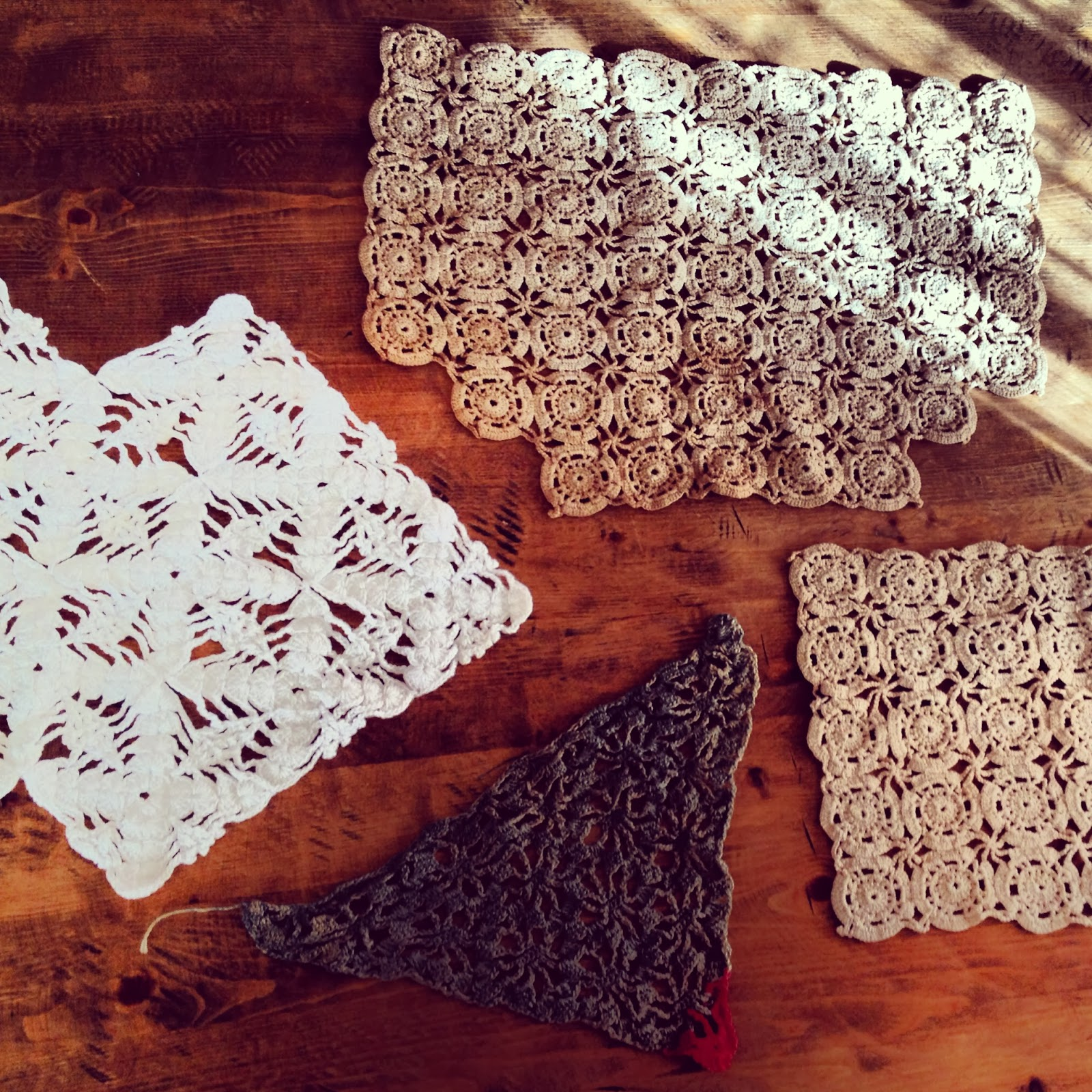 what to do with heirloom vintage doilies