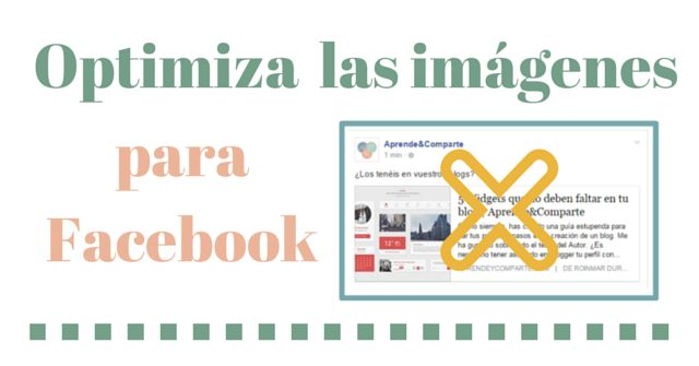 optimiza imagenes facebook