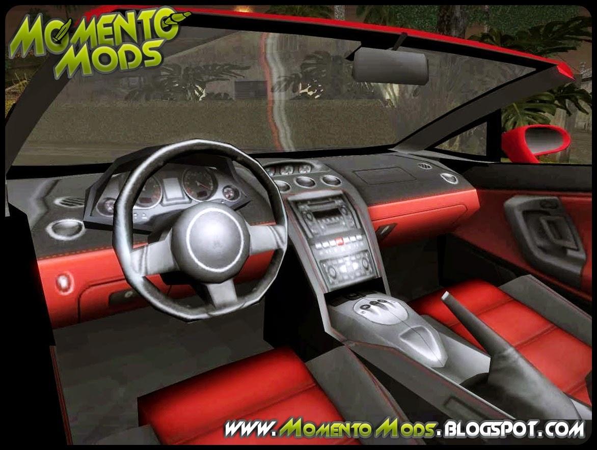 GTA SA - Lamborghini Galllardo Spyder