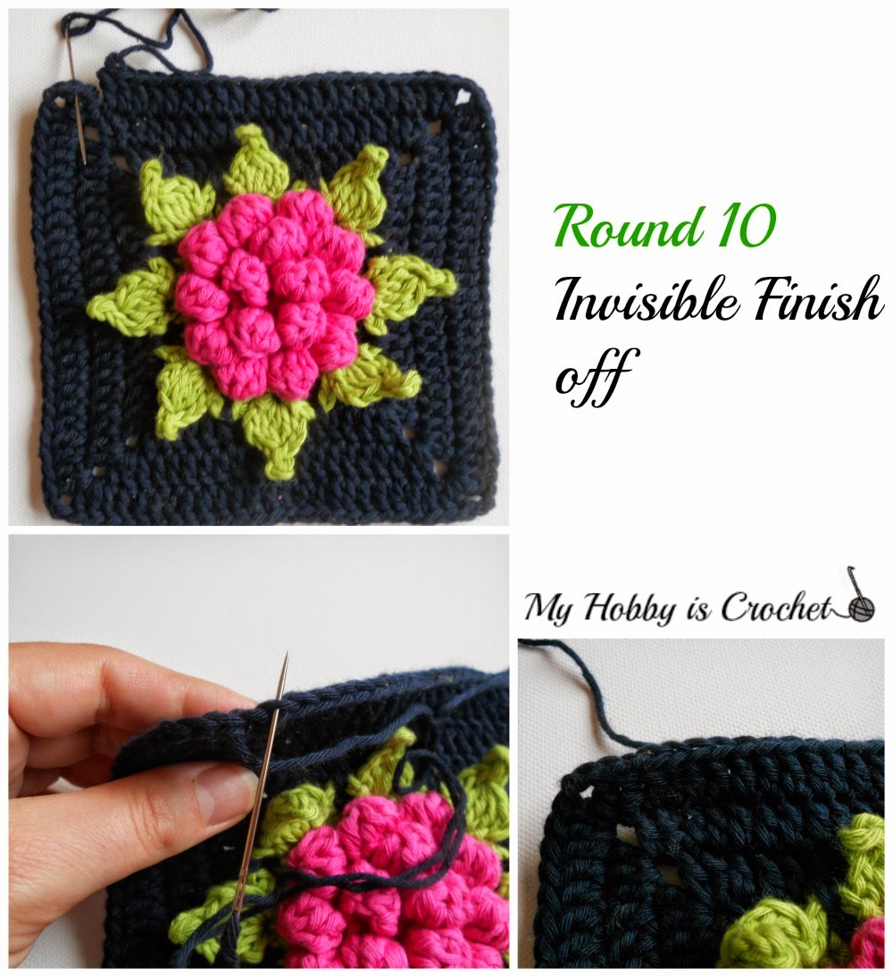 My Hobby Is Crochet: Majestic Bloom Granny Square Free Crochet ...
