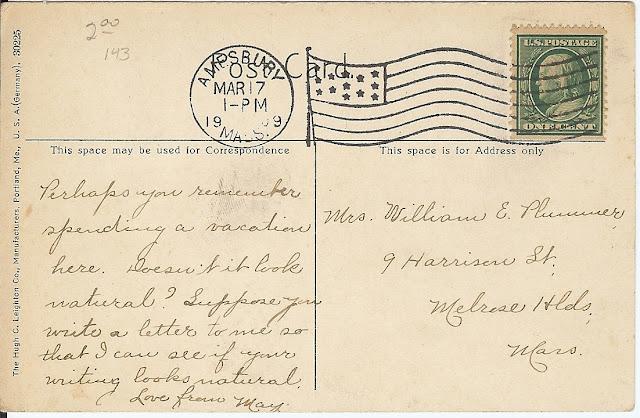 postcard, reverse, sarcasm