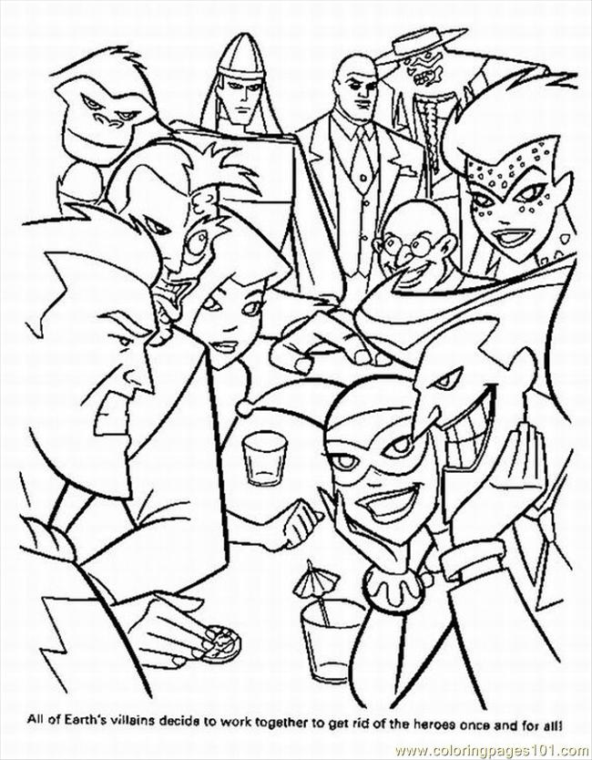 printable super hero coloring pages - photo#6