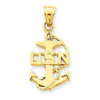 Navy Anchor Charm2