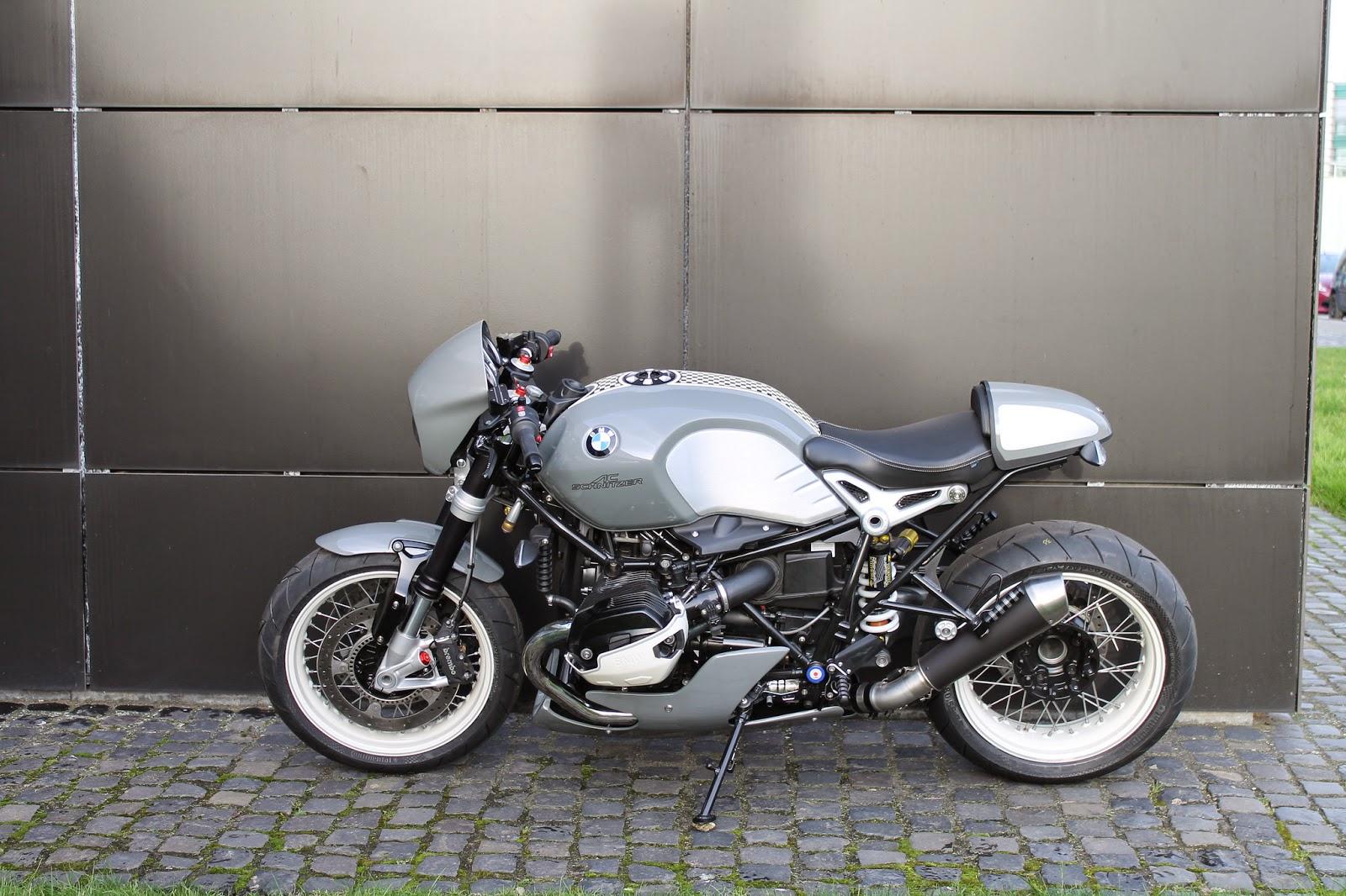 Racing Caf 232 Bmw R Ninet By Ac Schnitzer