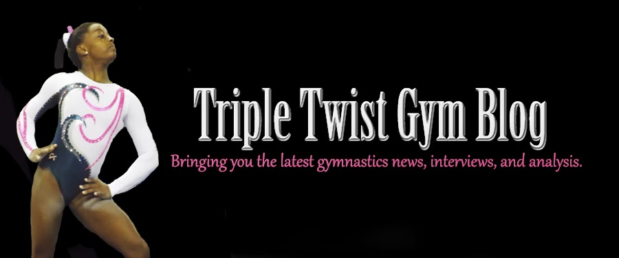 Triple Twist Gymnastics