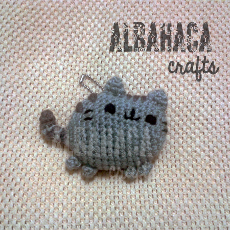 Amigurumi De Pusheen : ALBAHACA CRAFTS: ?D?a internacional del Gato!: Pusheen ...