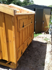 Clean Custom Chicken Coops