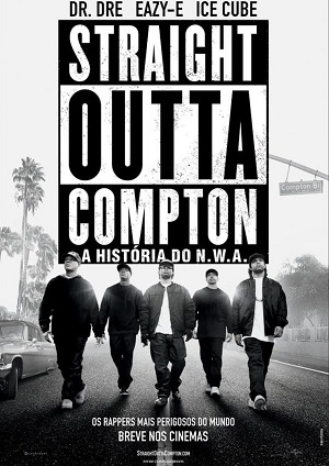 Straight Outta Compton - A História do N.W.A. BluRay Filmes Torrent Download capa