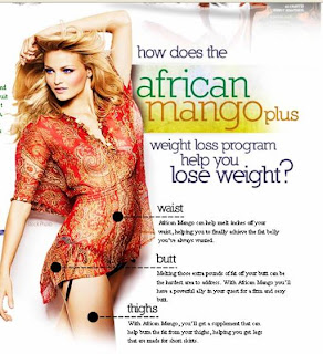 Can I lose my weight by 28 lbs in a month by African mangoes